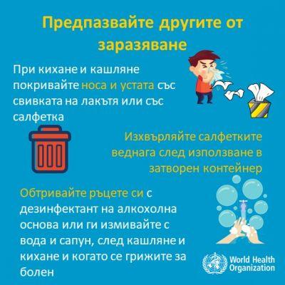 Ежедневно да напомняме за спазване на правилата за лична хигиена и социална изолация - Изображение 4