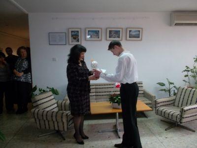 Поздравихме РИО за 3 март - 140 СУ Иван Богоров | Обеля София