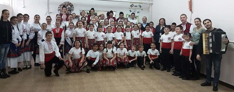 Български танци в 140.СУ