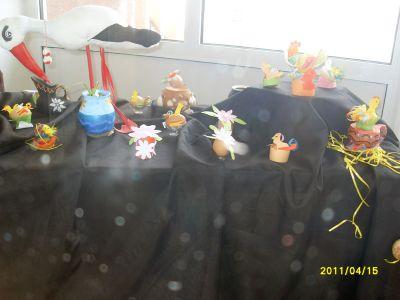 Великденска изложба 2011 г. - 140 СУ Иван Богоров | Обеля София