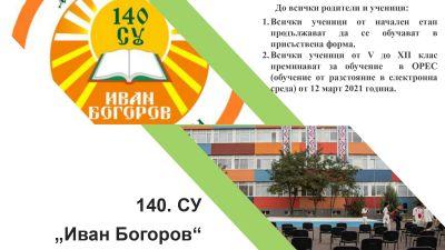 4564 - 140 СУ Иван Богоров | Обеля София
